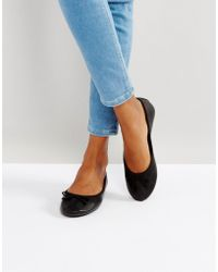 New Look - Ballerina Flat - Lyst
