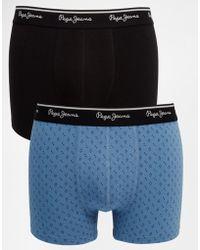 Pepe Jeans - 2 Pack Hackney Boxers - Lyst