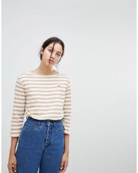 Kowtow - Building Block Boat Neck Top In Organic Cotton - Lyst