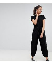 Noisy May Tall - Relaxed Woven Jumpsuit - Lyst