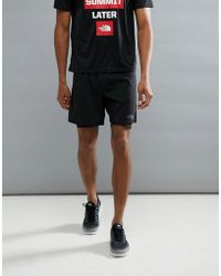 The North Face - Mountain Athletics Nsr Dual Running Shorts In Black - Lyst