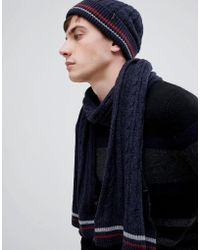 SELECTED - Cable Scarf - Lyst