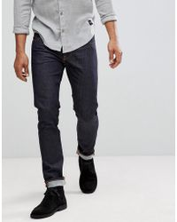 Nudie Jeans - Co Tilted Tor Skinny Fit Jean Dry Pure Navy - Lyst
