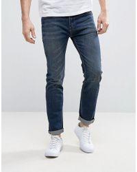 Bellfield - Washed Indigo Skinny Jeans - Lyst