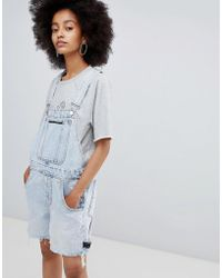 Cheap Monday - Cred Overall Tom Blue - Lyst