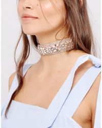New Look - Pastel Beaded Choker Necklace - Lyst