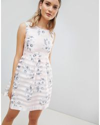 51574dc474cf24 Zibi London - Floral Skater Dress - Lyst