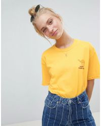 Daisy Street - T-shirt With Hump Day Print - Lyst