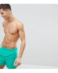 Nike - Exclusive Volley Super Short Swim Short In Green Ness8509-317 - Lyst