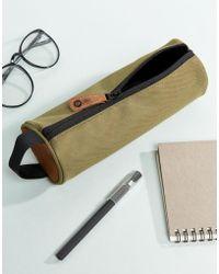 Mi-Pac - Classic Pencil Case In Khaki - Lyst