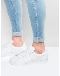 06328af57620 Stan Smith Leather Trainers In White M20324.  80. ASOS · adidas Originals -  Superstar Sneakers In White B27136 - Lyst
