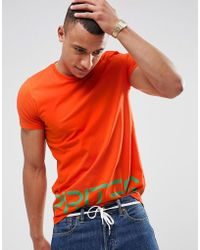 Esprit | T-shirt With Large Logo In Organic Cotton | Lyst