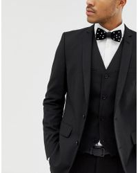 ASOS - Bow Tie With Embellishment - Lyst