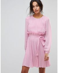 MAX&Co. - Max&co Candy Pink Ruffle Dress - Lyst