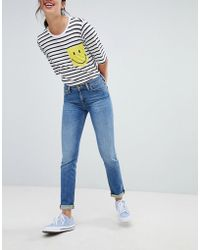 Lee Jeans - Smile Collab Straight Leg Jean - Lyst