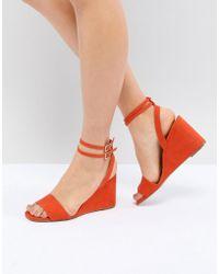 ASOS - Design Holt Sandal Wedges - Lyst