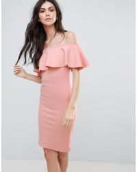 Be Jealous - Bardot Midi Dress - Lyst