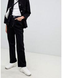Weekday - Jean large style skateur en coton bio - Lyst