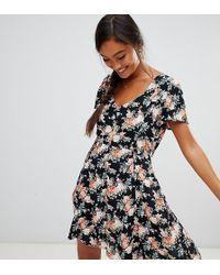 a34173dc2fb5 Miss Selfridge - Skater Dress In Floral Print - Lyst