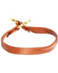 Gorjana - Single Leather Bracelet with Toggle - Lyst