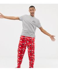ASOS - Christmas Pyjama Set With Pigs In Blankets Design - Lyst
