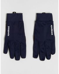 Patagonia - Wind Shield Gloves In Navy - Lyst