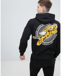 Cheats & Thieves - Tiger Back Print Hoodie - Lyst