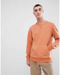 Another Influence - Crew Neck Front Pocket Sweat - Lyst