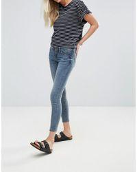 Blend She - Nova Jen Cropped Skinny Jeans - Lyst