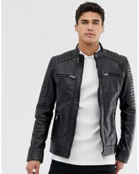 Lyst Men S Biker And Leather Jackets