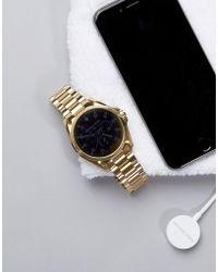 Michael Kors - Bradshaw Bracelet Smart Watch In Gold - Lyst