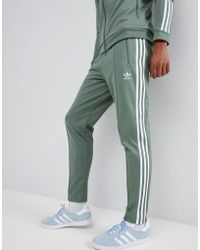 adidas Originals - Beckenbauer Joggers In Green Dh5818 - Lyst