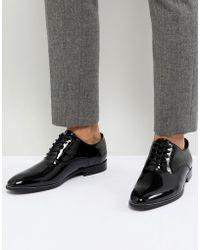 ALDO - Collamato Patent Lace Up Shoes - Lyst