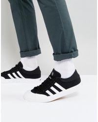 61b1c1e78035c adidas Originals - Adidas Skateboarding Matchcourt Trainers In Black F37383  - Lyst