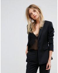 Reiss - Tailored Textured Jacket - Lyst