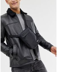French Connection - Flight Bag In Black - Lyst