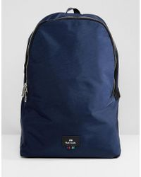 PS by Paul Smith - Nylon Backpack In Navy - Lyst