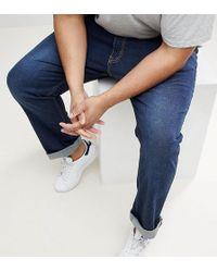 Loyalty & Faith - Loyalty And Faith Plus Regular Stretch Fit Jeans In Dark Wash - Lyst