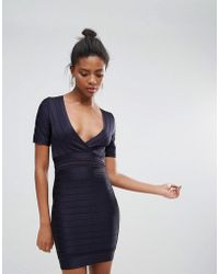 French Connection | Amhara Knit Fitted Dress | Lyst