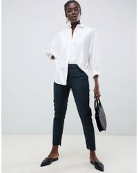 SELECTED - Femme Pinstripe Tailored Pants - Lyst