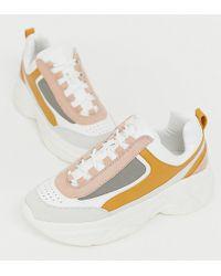 Pull&Bear - Chunky Sneaker In Multi - Lyst