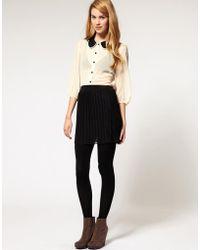Club L - Pleat Skirt - Lyst