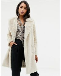 Forever New - Manteau fausse fourrure oversize - Lyst