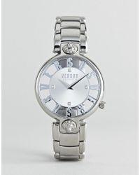 Versus - Kirstenhof Vp490518 Bracelet Watch In Silver 34mm - Lyst