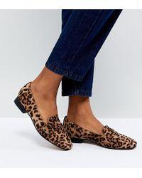 ASOS - Milestone Flat Shoes - Lyst