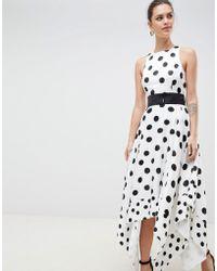 Coast - Elvie Spot Dress - Lyst