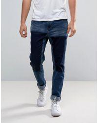WÅVEN - Drop Crotch Skinny Jeans In Trash Blue - Lyst