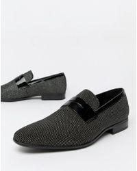 ALDO - Jerani Studded Loafers In Black - Lyst