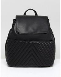 ASOS - Design Quilted Mini Backpack - Lyst