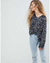 Pepe Jeans - Ditsy Floral Blouse - Lyst